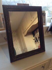 Beautiful Old Antique Mirror