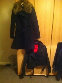 Leather superdry and vermo never be worn jackets