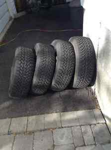 Goodyear  (4) Winter tires