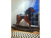 Very large rocking horse