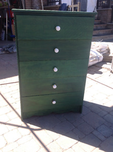 Commode bureau wooden bois