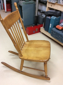 Knitters Rocking Chair