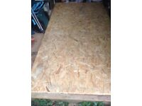 2off new 18mm Sterling boards OSB3