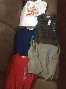 Bnwt boys size 5/6 lot of clothes