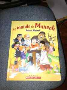 Collection of Robert Munsch french books for sale