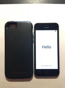 Iphone 5s 8G Black with Otterbox Case