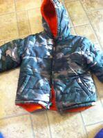 Reversable winter jacket
