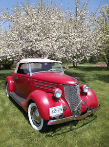 """1936 Ford kustom New Old Stock grille shell  """"Pines Winterfront"""" London Ontario image 10"""