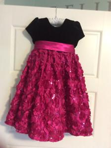 Girls size 4 party dress