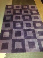 Purple Wool Area Rug