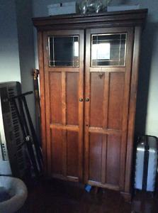 Computer/TV/Desk Large Cabinet