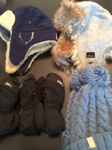 Boys Hats, Scarves. Gap, Polo Selling for $3.00 to $6.00 each