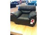 Leather armchaire
