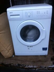 Nearly New. Beko. 6Kg. W/Machine