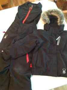 Spider Snow suits, one boy, one girl size 7/8