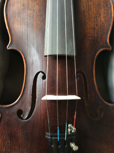 Violin outfit, like new. Beautifully made, bright full tone