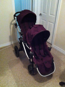 Baby Jogger City select stroller with double seat!
