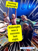 Kids night comedy theater playgroup