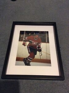 Montreal Canadiens Steve Shutt signed and framed photo