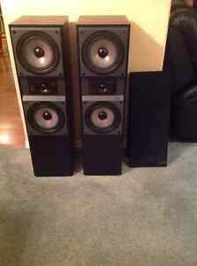 Mission 765 tower speakers