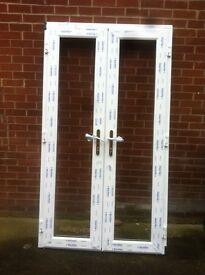 New upvc French door