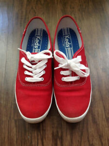 Women's Keds canvass sneakers red size 7.5