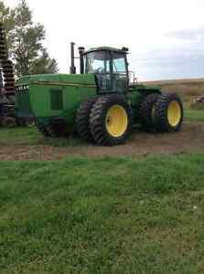 8570 John Deere Tractor/40ft Flexi Coil Airdrill