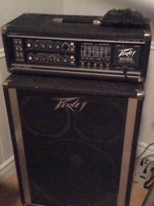 Amplificateur de basse Vintage Peavey .