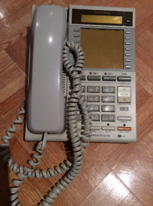 WHITE PANASONIC EASA-PHONE 2 LINE MODEL KX-T3175C -