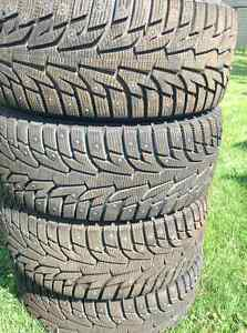 225-45-17 NEW LOW PROFILE STUDDED WINTER TIRES (SAVE $300)