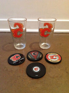 Calgary Flames Cups and Coasters