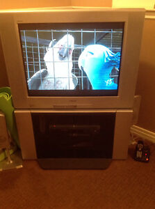 Sony Wega glass front tv