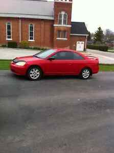 2003 Honda Civic Coupe (2 door),automatic ,low kms, one owner