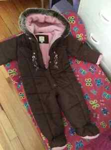 Snow suit for baby girl