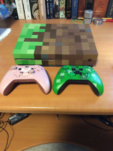 Xbox One S 500gb with 2 controllers and games