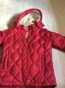 Girls fall coat
