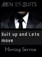 Men in suits moving services