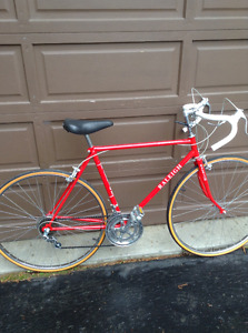 "VINTAGE  RALEIGH. ""Record""  Road Bike"
