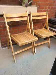 Chaises de Balcon - Wooden Balcony Chairs