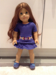 Saige American Girl Doll with Clothes & Shoes