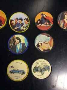 Vintage antique the monkee's coins from Kellogg's cereal