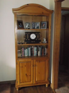 bookcase solid pine