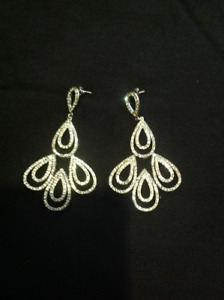 Gorgeous Chandelier Earrings bought at Bridal Store