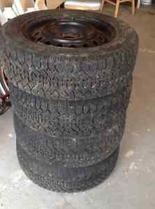 Winter-Tires - NORDIC - 16 inch size - Very Good Condition West Island Greater Montréal image 1