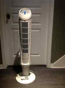 Honeywell QuietSet Whole Room Tower Fan - remote controlled