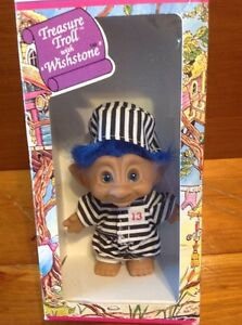 Vintage Trolls prisoner toy figure, New in box Windsor Region Ontario image 1