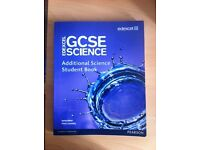 Edexcel GCSE Science: Additional Science Student Book by Mark Levesley