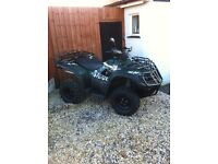 Road legal quad immaculate condition
