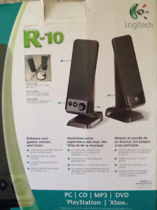 R 10 Logitech Speakers -Used for very short time