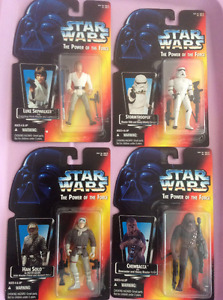 Star Wars Figurines Power of the force  Brand New